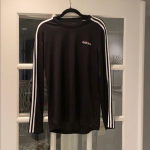 Men's adidas long sleeve shirt size M